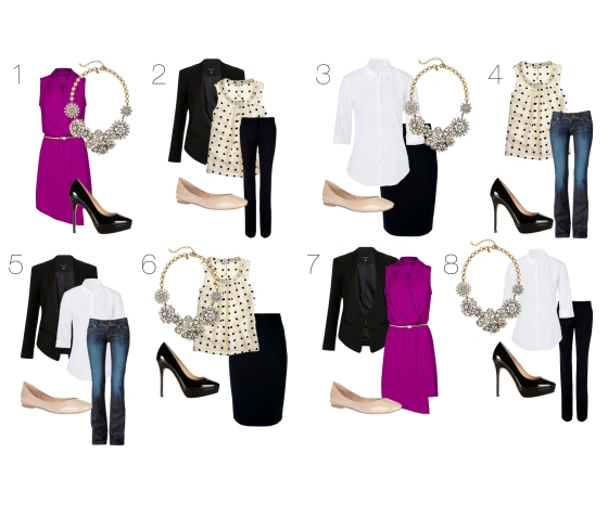 Wardrobe Essentials Outfit Ideas